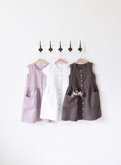 Linen Dress Girls Sundress Toddler Dress Bohemian Dress Source by jupiter_ntp Toddler Dress, Toddler Outfits, Kids Outfits, Baby Outfits, Toddler Girls, Baby Girls, Little Girl Dresses, Girls Dresses, Baby Dresses