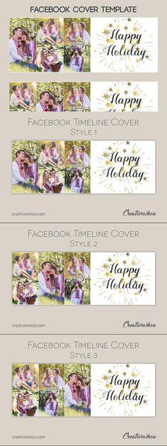 Facebook Cover Timeline Template for $500 #webdesign #facebook