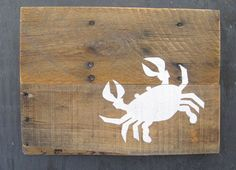 Plank Crab - Reclaimed Pallet Wood