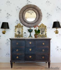 loveisspeed.......: Inside Brian McCarthys Greek Revival Farmhouse in New York Designer Brian McCarthy filled his Greek Revival-style country house in Kerhonkson, New York, with layers of art and objects hes collected through the years.