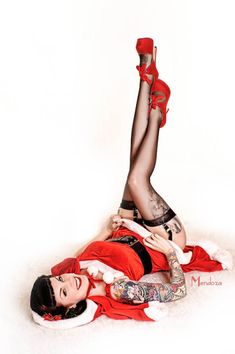 Santa Baby. #Tattoos #Girls #Women