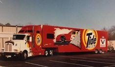Kenworth T600, Tide, NASCAR, Hauler, Transporter