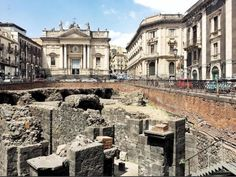 Anfiteatro in #Catania