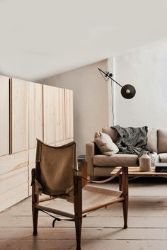 Brooklyn loft. love this articulating sconce