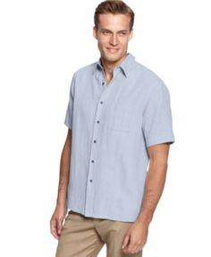 Tasso Elba Island Short-Sleeve Woven Shirts