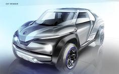 CROSS HUB CONCEPT - Yamaha Motor Design | ヤマハ発動機株式会社