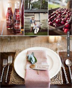 Americana wedding ideas | VIA #WEDDINGPINS.NET