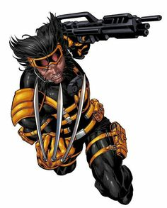 Wolverine by Mike Deodato Jr. The New Wolverine, Wolverine Art, Logan Wolverine, Logan Xmen, Comic Book Characters, Marvel Characters, Comic Character, Comic Books Art, Comic Art