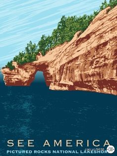 Pictured Rocks National Lakeshore by Mark Forton aka mafMOVE