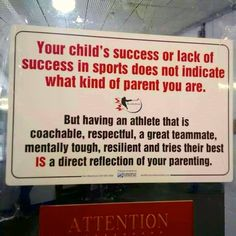 A note to parents...