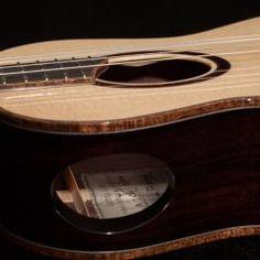 Lichty Custom Tenor Ukulele, U115 - http://lichtyguitars.com/2016/12/14/custom-indian-rosewood-ukulele-u115/