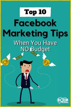 10 free Facebook marketing tips and how to use them in your business.
