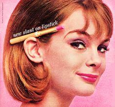 Cutex Lipstick, 1963 Jean Shrimpton