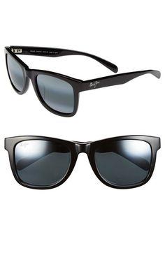 Maui Jim 'Legends' 54mm Polarized Retro Sunglasses available at #Nordstrom