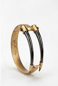 A Peace Treaty Gezula Horn Bracelet  Online Only    $180.00