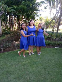 Bridemaid #BlueElectric, #girly, #MyWork