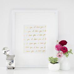 I Love You, I Love You Art Print   The TomKat Studio Shop