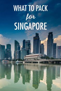 "Many have argued that Singapore is so tiny that it is not worth a visit, but I would beg to differ. It's absolutely packed with activities to do and sights to explore when visiting. ""But what should I pack?"" I'm glad you asked. The definitive packing list is a great place to start, and here are some considerations specific to Singapore."