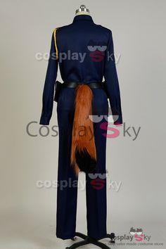 Zootopia Fox Nick Police Uniform Cosplay Costume_5