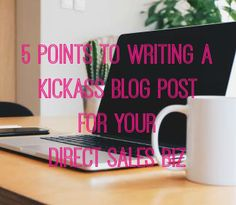 What to write a blog about