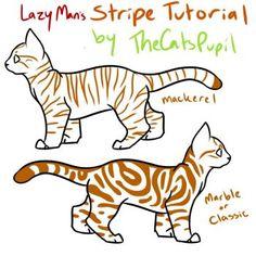 Lazy Man's Stripe Tutorial by TheCatsPupil