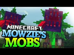 Add the most aggressive plant in minecraft! Minecraft Iron, Minecraft Forge, Minecraft Toys, Plant Monster, Hunting Packs, Gamer News, Big Photo, Cyberpunk 2077, Large Plants