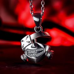 Back To Search Resultsjewelry & Accessories Pendants Punk Mask Necklaces Japanese Anime Black Gas Mask Cosplay Pendant For Women And Men Fans