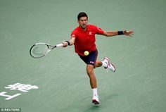Novak Djokovic lost to Roberto Bautista Agut in the semi-finals of the Shanghai Masters
