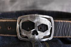 Skull Bottle Opening Buckle by Fosterweld by FosterWeld on Etsy, $35.00
