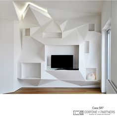 CORFONE+PARTNERS -  Interior design Living Room - SR7 HOUSE