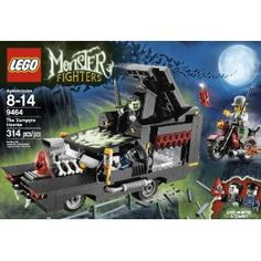 Amazon.com: LEGO Monster Fighters 9464 The Vampyre Hearse: Toys & Games