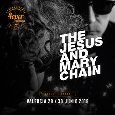 The Jesus And Mary Chain se suman a nuestra familia festivalera el próximo 29 de junio. La mítica banda de rock escocesa sonará mejor que nunca en Valencia. Vuelve a soñar con 4everValenciaFest. En La Marina de València, mucho más que un festival.  Entradas ya en Ticketmaster.  #4everValenciaFest #4ever #Valencia #festival #nuevaconfirmacion #thejesusandmarychain