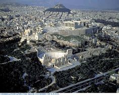 Image result for Parthenon acropolis painting