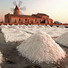 Saline di Marsala, Sicily, Italy Ecotourism,