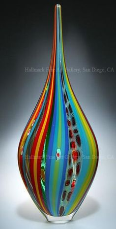 Image > David Patchen Hand Blown Glass Art - Resistenza