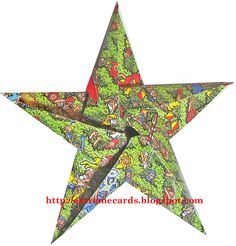 where's waldo origami star