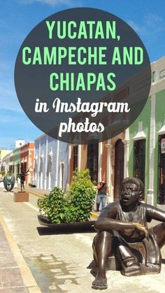 We did our best to visit as much of the Yucatan Peninsula as we could on our visit to Mexico. Check out our Yucatan, Chiapas and Campeche Instagram photos.