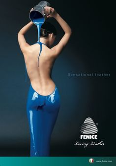 FENICE Advertising // Sensational Leather