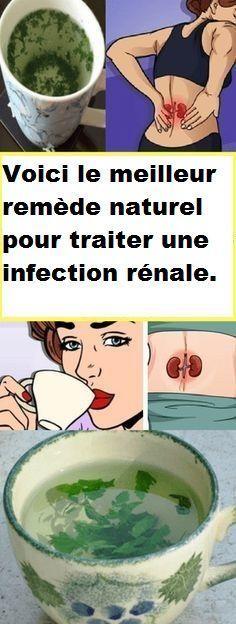 Voici le meilleur remède naturel pour traiter une infection rénale.