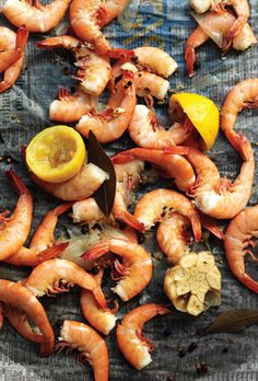 Flavorful broiled shrimp. A perfect summer meal (@Epicurious  www.epicurious.com)