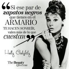 Audrey Hepburn frases en español - Buscar con Google