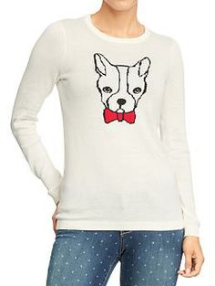Women's Graphic Crew-Neck Sweaters | Old Navy! can you believe it!
