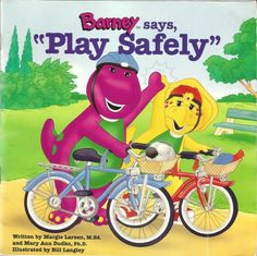 Published in 1996 by Barney Publishing a division the the Lyon Group. This book was written by Margie Larsen, M. and Marry Ann Dudko, Ph. and illustrated by Bill Langley. Teaching Safety, Safety Helmet, Felt Books, Iphone Phone, Illustrations, Great Friends, Jouer, Elmo, Literature