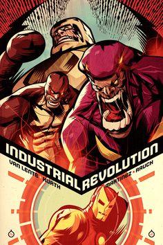 Marvel Comics Cover Art (circa 2005-2011) | By: Juan Doe, via InspireFirst (#ironman)