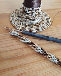 Bead crochet pattern seed bead bracelet tutorial pdf beading master Class jewelry make necklace Crochet Rope PDF tutorial geometric rhombus Crochet Bracelet Pattern, Crochet Beaded Bracelets, Bead Crochet Patterns, Bead Crochet Rope, Beaded Crafts, Beaded Bracelet Patterns, Beaded Necklace, Diy Crafts, Crochet Diy