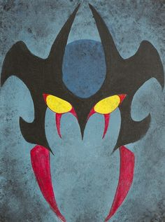Devilman fan art painting