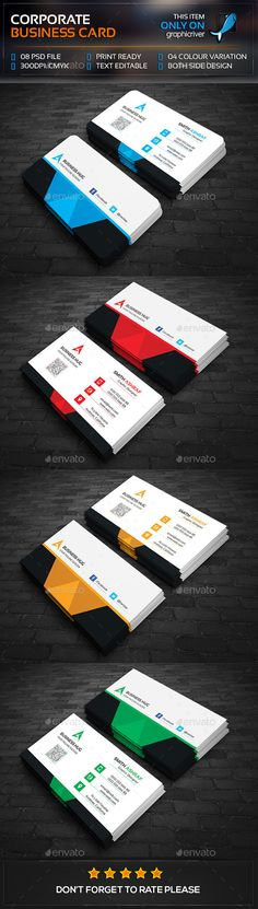 Mega Abstract Business Card Template PSD #design Download: http://graphicriver.net/item/mega-abstract-business-card/13380872?ref=ksioks