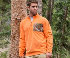 The Southern Marsh FieldTec™ Dune Pullover in the tan color!