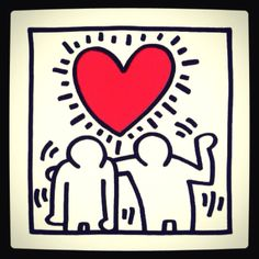 Keith Haring #art #newyork  With love!!