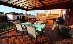 Patio avec toit transparent - Patios et Clôtures Beaulieu